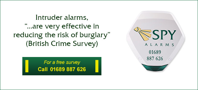 Home security and intruder alarms