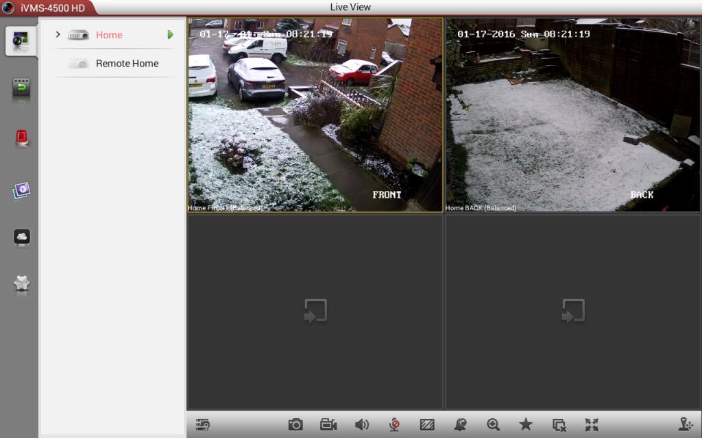 CCTV Monitor app