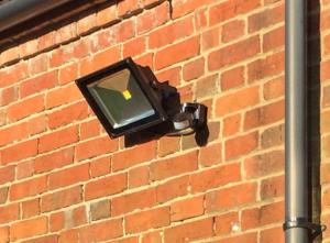 Security Lighting Testimonial, Sidcup, Kent