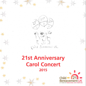 London Carol Concert for the Child Bereavement Trust